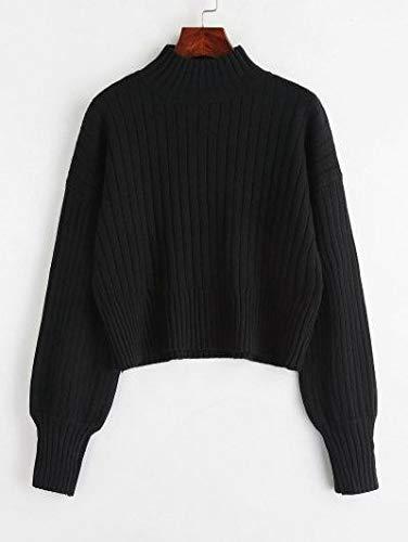 barmolaswomansweatshirtblackwintercasualwear