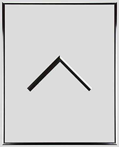 RahmenMax Aluminium Bilderrahmen Alaska 22 x 83 cm aktuelle Farbe: Silber Glanz mit Acrylglas Antireflex 1mm. Posterrahmen aus echtem Metall/Aluminium. Anfertigung nach Maß möglich.