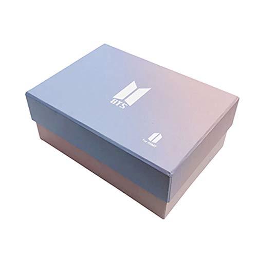 BTS Geschenk-Set für die Armee, 97-teiliges Bantan Boys World Box inkl. Postkarten-Aufkleber, Geschenketui für Tochter Enkelin (BTS-BOX)