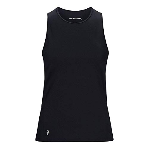 Peak Performance Women Revel Top Vêtements De Course Tank Top Black - White XS