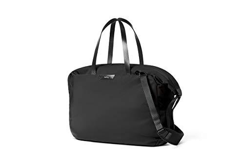 """Bellroy Weekender (13"""" Laptop, durchdachte Innenfächer, Abnehmbarer Schultergurt, Weite Öffnung) - Black"""