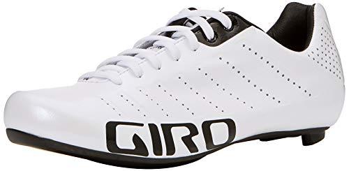 Giro Empire SLX Road, Zapatos de Ciclismo de Carretera Hombre, Multicolor (White/Black 000), 42 EU