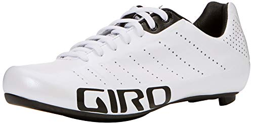 Giro Empire SLX Road, Zapatos de Ciclismo de Carretera para Hombre, Multicolor (White/Black 000), 41.5 EU