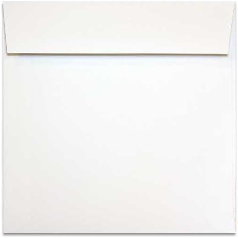 Basic Ranking TOP16 Animer and price revision White 8 inch Square 1000 PK - Envelopes 8x8