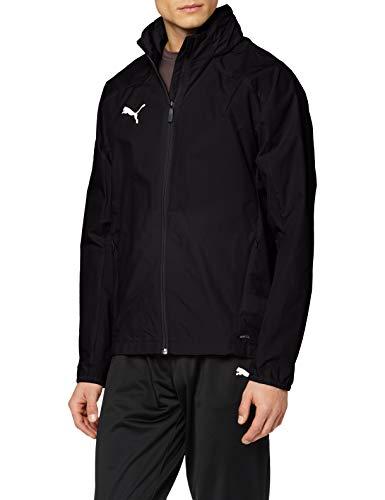 PUMA Liga Training Rain, Giacca Uomo, Nero Black White, L