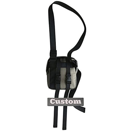 Nome personalizzato Messenger Bag Ragazze Crossbody Satchel Borse per gli uomini Messenger Scuola, Jinse, Taglia unica,