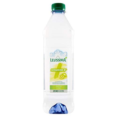 Levissima Acqua Minerale Naturale Addizionata con Vitamine B e Gusto Lime, 60cl