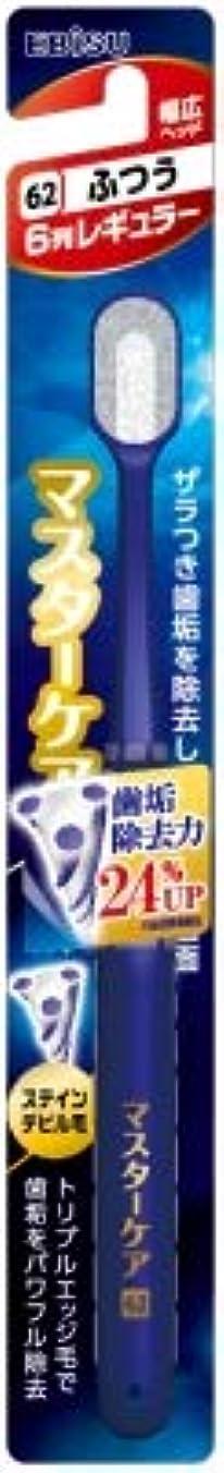 花火動機郵便物【まとめ買い】マスターケアハブラシ?6列レギュラー ふつう ×3個