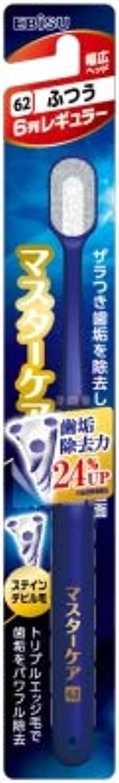 ニンニク愛されし者悔い改める【まとめ買い】マスターケアハブラシ?6列レギュラー ふつう ×6個