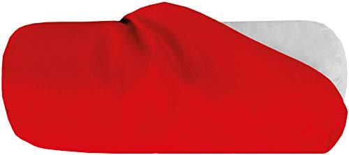 Bestlivings Bezug für Nackenrolle 15x40cm (BxL) Bezug in Rot, in vielen Farben
