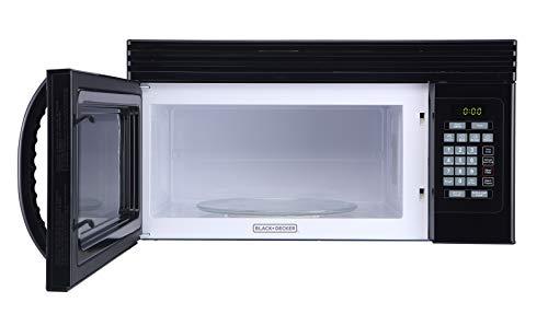 Black+Decker 1.6-Cu.Ft Over-the-Range Microwave - Black (EM044KJN-P2)