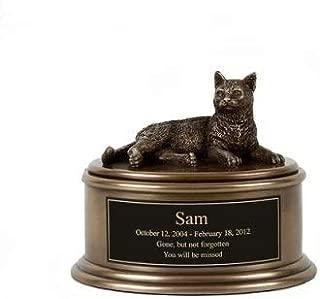 Perfect Memorials Short Hair Cat Figurine Cremation Urn