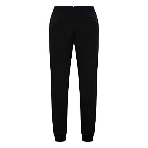 le coq Sportif ESS Pant Regular N°2 M Joggers & Tracksuits Hommes Black - XL - Tracksuit Bottoms