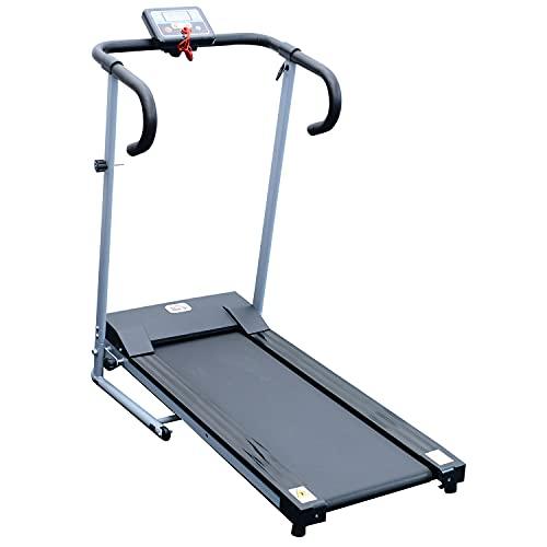 HOMCOM Unisex Motorised Electric Treadmill Folding Running Machine Gym Fitness Exercise