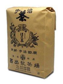 宇治ほうじ茶 業務用1kg茶葉入 ほうじ立てにこだわったさっぱりとした飲みごたえ 冬は熱湯であったか