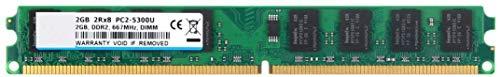 BPX 2 GB DDR2 667 MHz, PC2-5300, PC2-5400, 240pin 2Rx8 1.8v Memoria RAM DDR2 CL5 Escritorio