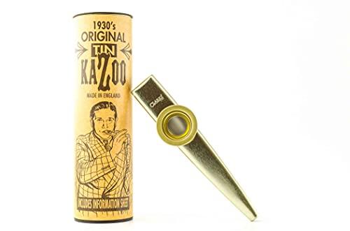 Gewa Kazoo / E36 Kazoo aus Metall, Original, verpackt in Karton, Gold