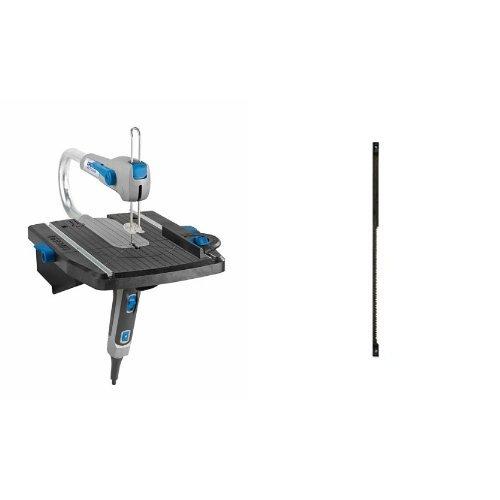 Dremel Moto-Saw MS20-1/5 2 en 1 - Sierra de calar compacta (70 W, 1 complemento, 5 accesorios) + B madera y plásticoMS52