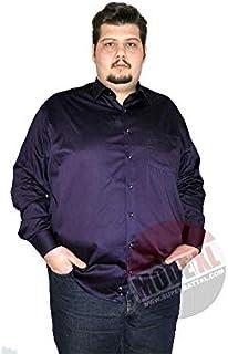 Mode XlBüyük Beden Erkek Klasik Uzun Kollu Pamuk Saten Gömlek