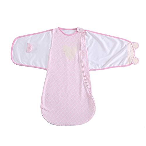 Mayoaoa Cotton Swaddle Baby Schlafsack Unisex 4 Jahreszeiten Verwenden Sie Tragbare Schlafdecke Bestes Produkt Für Langen Schlaf Ausgezeichnetes Geschenk Für 3-12 Monate