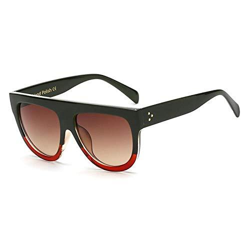 HAOMAO Gafas de Sol de diseñador de Marca con Lentes degradados para Mujer, Gafas de Montura Completa, Gafas para Mujer 9