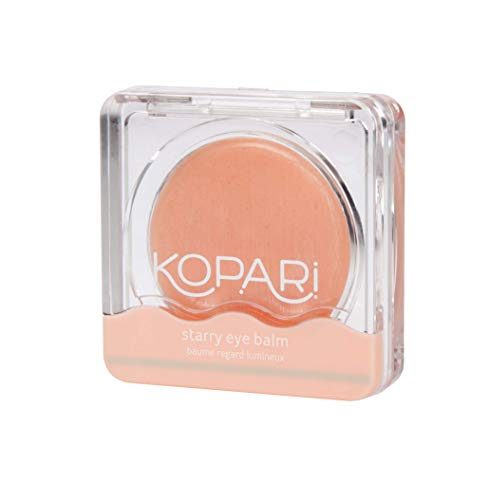 Kopari Starry Eye Balm- Hydrating + Moisturizing Formula with Hyaluronic Acid and Caffeine to Remove Puffiness Under Eyes and Smooth Wrinkles