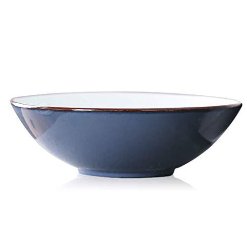 LHBNH Ciotola Giappone Smalto ceramico zuppiera Ciotola Tema insalatiera Frutta Dipinta a Mano di Ramen tavola Creativa Articoli per la tavola delle Famiglie, Ciotola ret