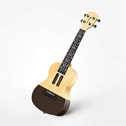 -Ukulele U1 Intelligent Ukulele 4 Strings 23in akustische elektrische Ukulele LED-Lampe Perlen wenig Gitarre Anfänger und Fortgeschrittene Ukulelen
