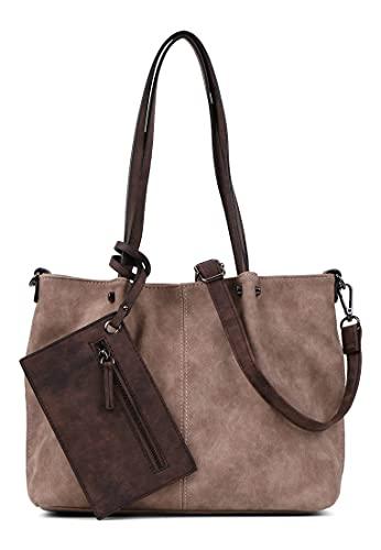 Emily & Noah Shopper Bag in Bag Surprise 299 Damen Handtaschen Uni taupe brown 902 One Size