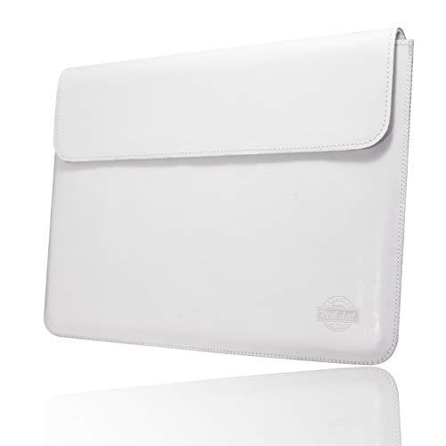 Red Ant PTA-0183-APP-PRO13 Handgemachte Lederhülle für MacBook Pro 13 parfümiert mit natürlichem ätherischen Honigöl Weiß