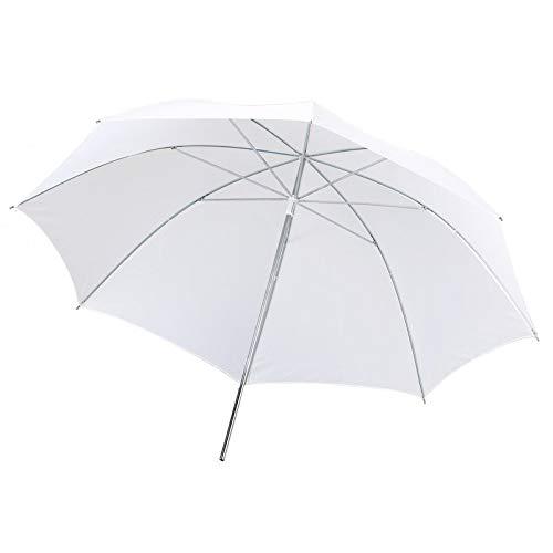 BianchiPatricia 33 Inch Photography Pro Studio Reflector Translucent White Diffuser Umbrella