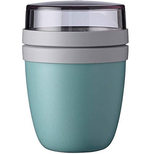 MOC 700ML Lunchpot (Nordic Blau) praktischer Müslibecher, Joghurtbecher, to go Becher