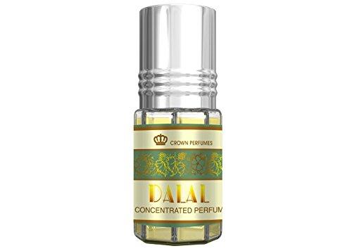 Prime Véritable Attar Huile Parfum Roll On Sans Alcool Halal 3ML haute qualité - Dalal, 3ml