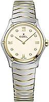 Ebel ladies 1216418A sport classic 18k gold & steel swiss quartz watch