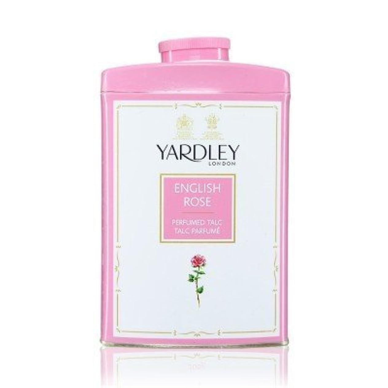 お嬢哀れな疲労Yardley English Rose Perfumed Talc, 250 g by Yardley [並行輸入品]