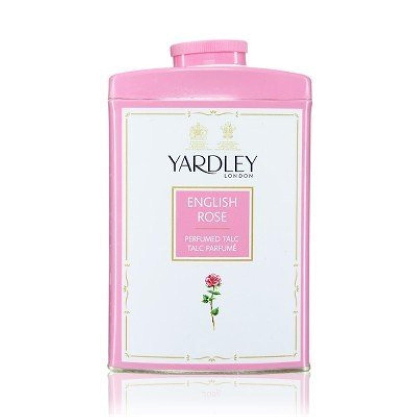 尽きるアレルギー妥協Yardley English Rose Perfumed Talc, 250 g by Yardley [並行輸入品]