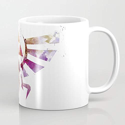 ZIQIZIYU Taza de café Zelda 324 ML