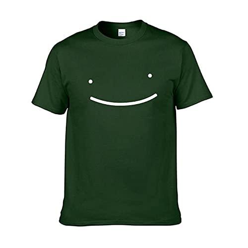 Camiseta De Manga Corta con Estampado De Golf De Manga Corta para Hombre Dreamwastaken Manga Corta Cuello Redondo Suelta para Hombre 3XL