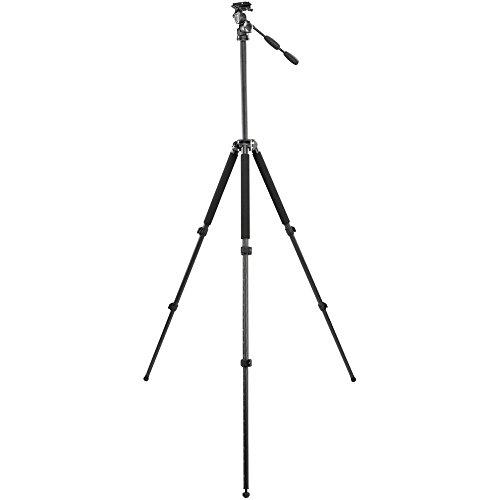 Velbon Geo-Series E635D carbon driepoot statief incl. PHD-65D kop (hoogte 183 cm, belastbaarheid 4 kg)