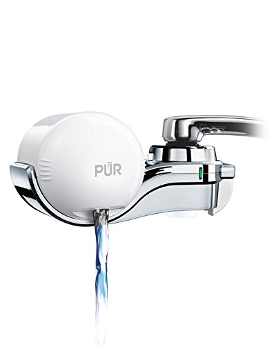 PUR 3-Stage Horizontal Faucet Mount White FM-9600