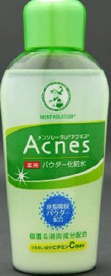 ウサギ成熟収容するロート製薬 メンソレータム アクネス薬用パウダー化粧水 120ml×60点セット (4987241125197)