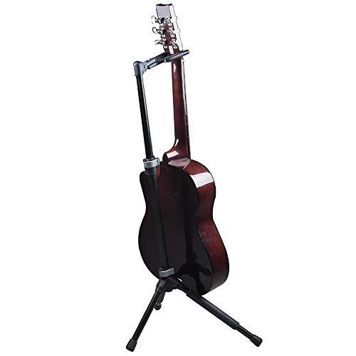 TWFY Plegando un Soporte de Marco Soporte for la Guitarra de la Guitarra eléctrica Profesional Plegable portátil y Plegable Ajustable del Regalo de los Amigos Soporte de Guitarra Acústica