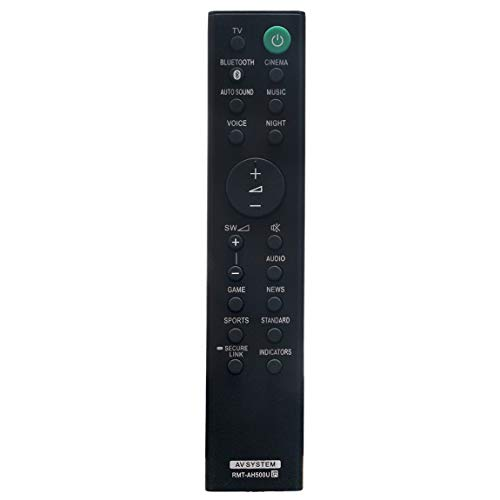 RMT-AH500U Replacement Remote Control fit for Sony Soundbar HT-SD35 HT-S350 SA-SD35 SA-WSD35 SA-WS350 SA-S350 Sound Bar