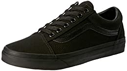 : All Black Canvas Uppers : Lace Fastening : Padded Cuffs : Signature Design : Waffle Textured Sole
