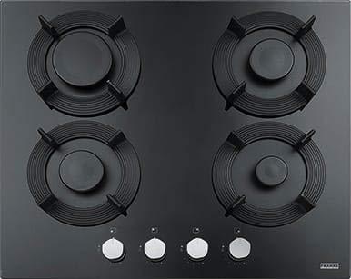Franke | FHMF 604 4G C BK Plaque de cuisson à gaz de 60 cm 4 feux Noir