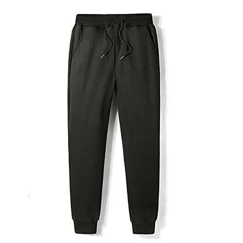 Freaiaqy Pantalones Deportivos de Invierno para Hombre, Mantener el Calor, Engrosamiento, Aumento de Felpa, Mallas para Cerrar, Hombre Directamente, Recipiente-1_6XL