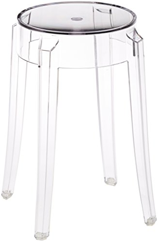 Kartell 4897B4 Charles Ghost - Sgabello 46 cm, Colore:...