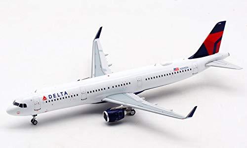 JFOX Delta Airlines Airbus A321 N359DN 1/200 diecast Plane Model Aircraft