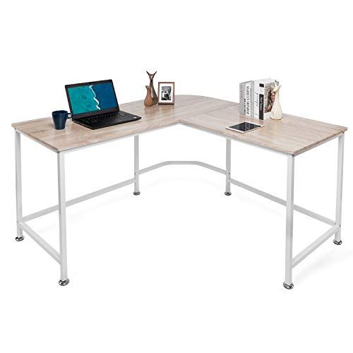 Lauraland L Shaped Desk 55 Inch,...
