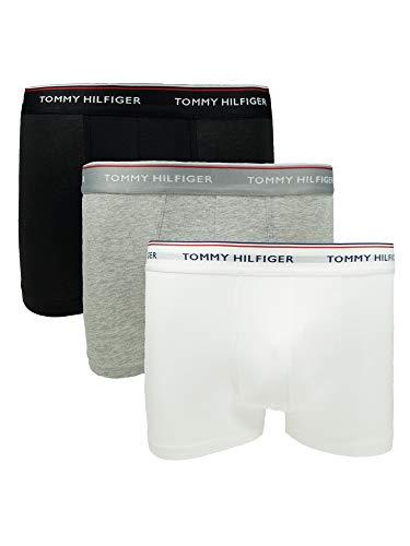 Tommy Hilfiger Herren Unterwäsche Boxershort 3er Pack Low Rise Trunk XL Bunt